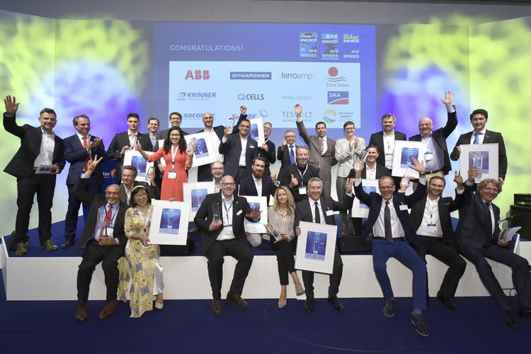 Intersolar AWARD winners 2018